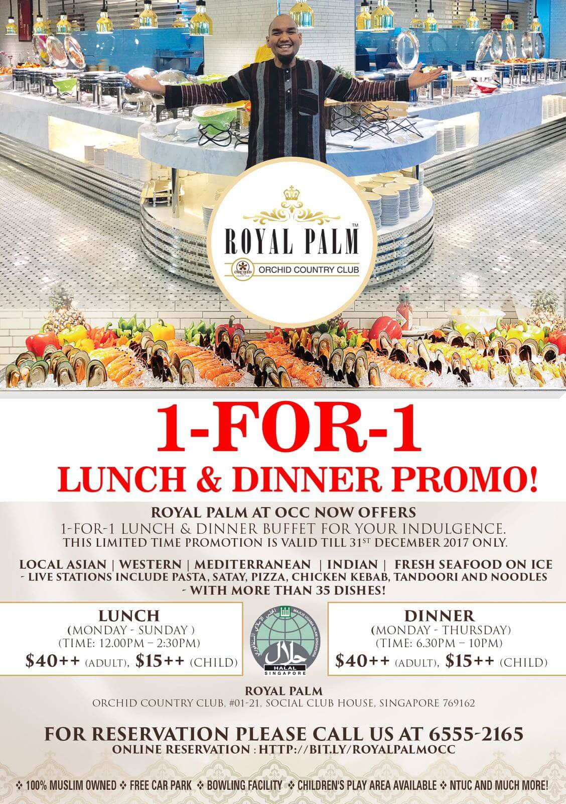 Royal Palm OCC Lunch and Dinner Promotion