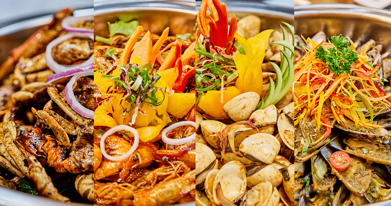 Halal Buffet in Singapore Royal Palm OCC Seafood