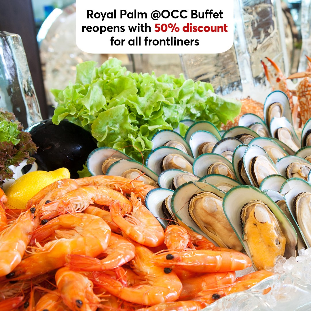 RP OCC Buffet Frontliners Promotion